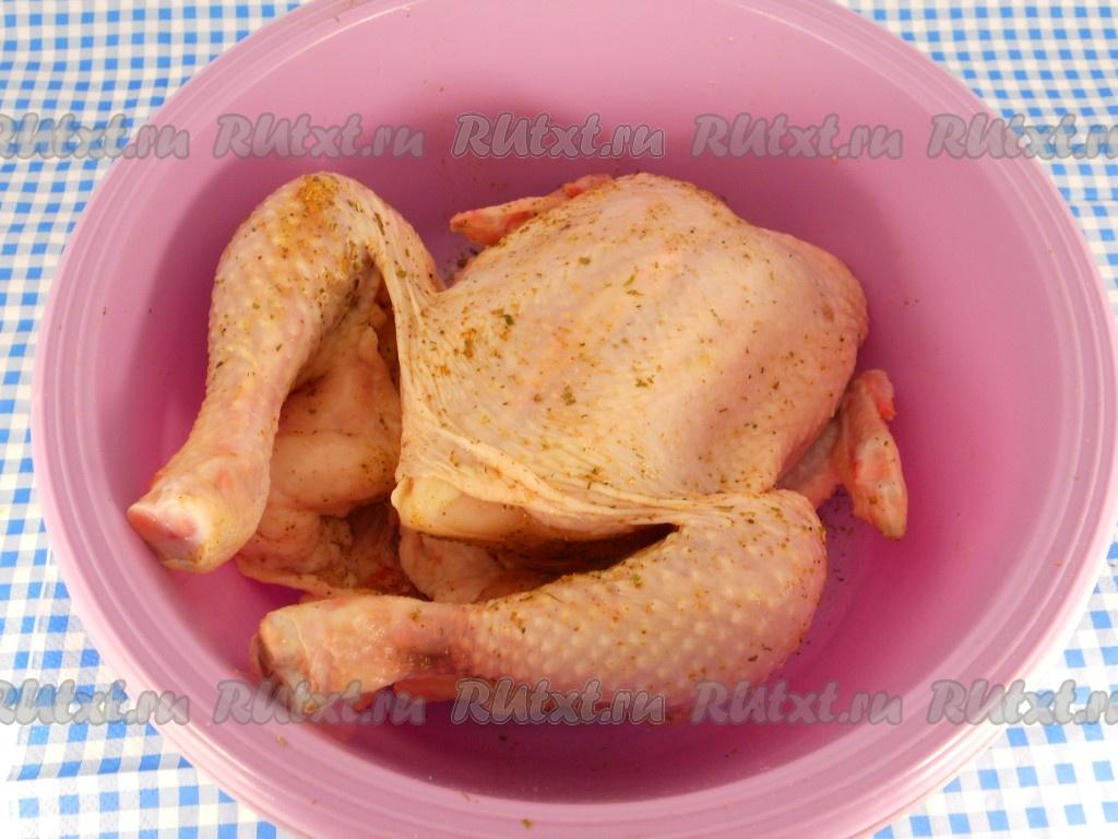 Рецепт запекания цыпленка 176