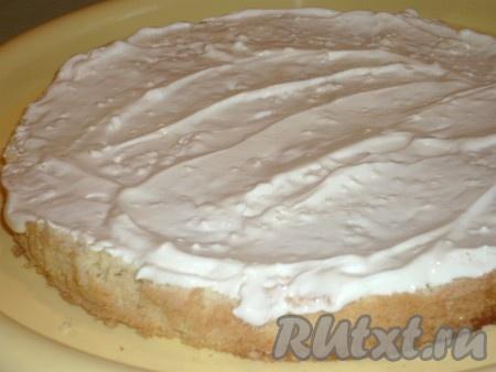 Сливочный бисквит рецепт с фото пошагово