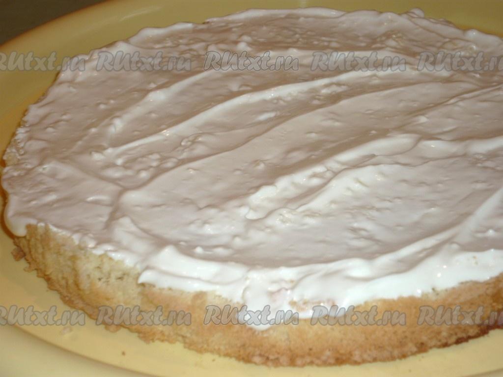 Бисквит рецепт с маслом
