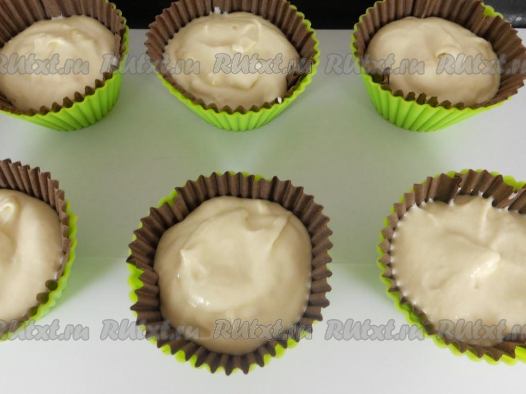 Капкейки в бумажных формах рецепт с фото