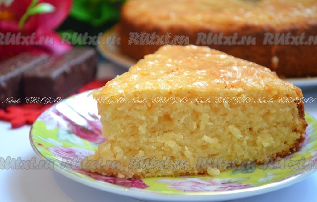 пирог с лимоном простые рецепты