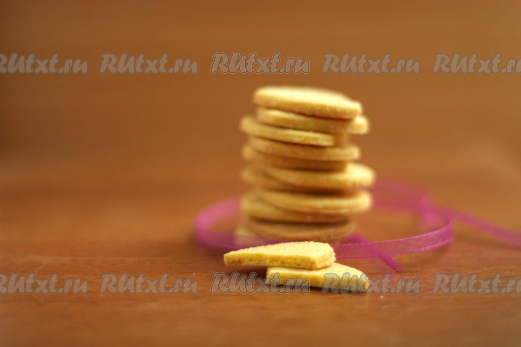 рецепт печенья песочного с большим выходом