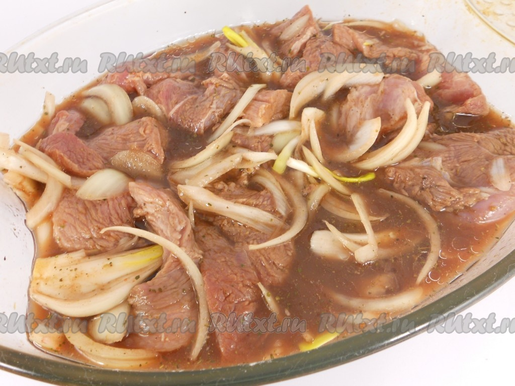 рецепт фото свинина в вине в духовке