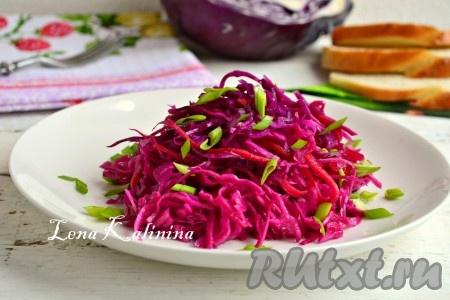 Маринованная красная капуста быстрого приготовления – 7 вкусных рецептов