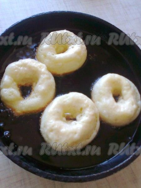 рецепт пончиков в сотейнике
