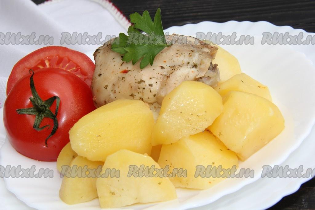 бедра с картошкой в духовке рецепты с фото