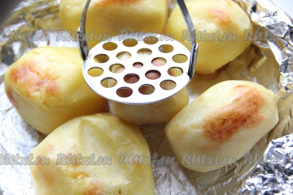 Мелкий картофель в кожуре запеченный в духовке rutxt