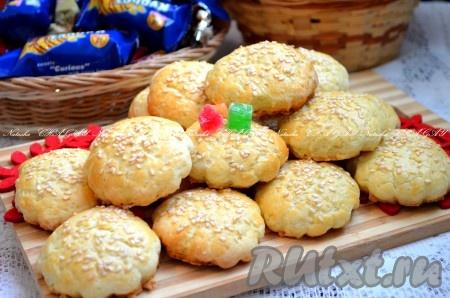 рецепт приготовления песочного печенья в домашних условиях