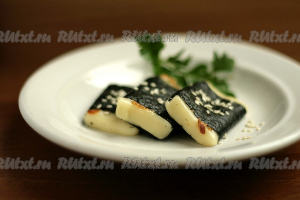 Жареный сыр рецепт с фото без панировки