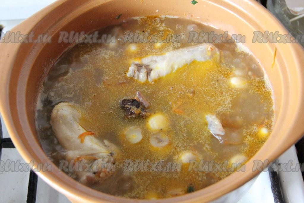 Как сделать зажарку на суп