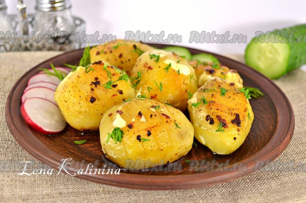 Картофель запеченный с чесноком в мультиварке — photo 9