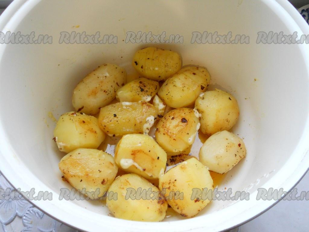 Картошка мультиварке пошаговый рецепт фото
