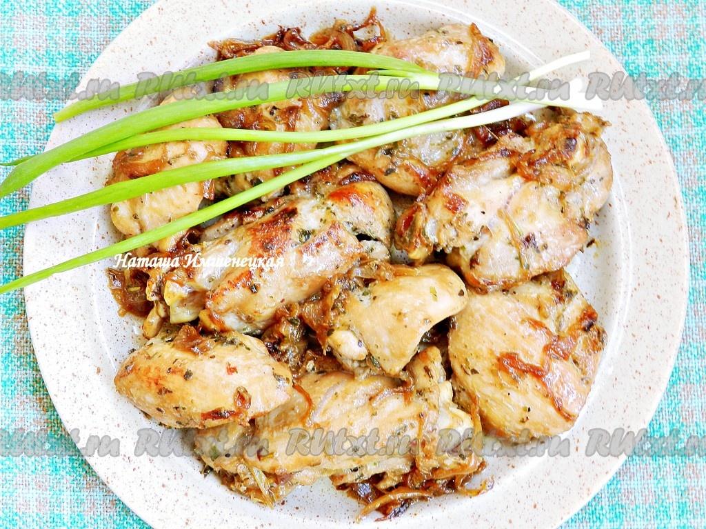 Рецепт куриных бедрышек жареных