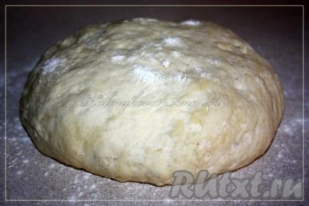Тесто для пирога готово.