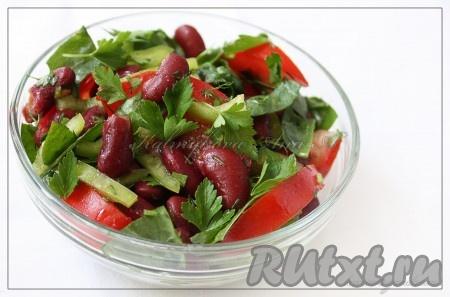 рецепты салатов с инструкцией и фото