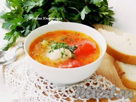 Суп с лечо рецепт с фото