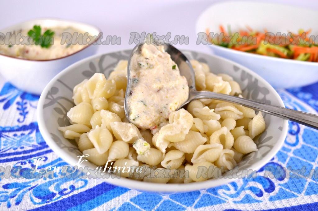 сметанный соус для спагетти рецепт с фото