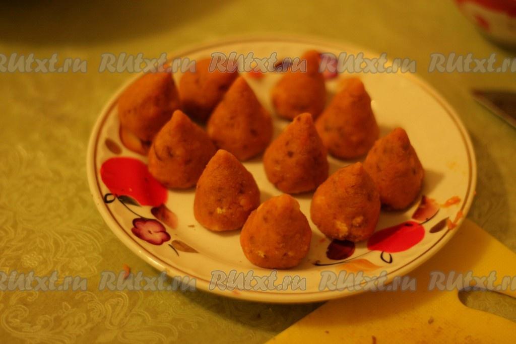конфеты из тыквы рецепт с фото