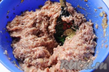 Фарш с гречкой рецепт пошагово