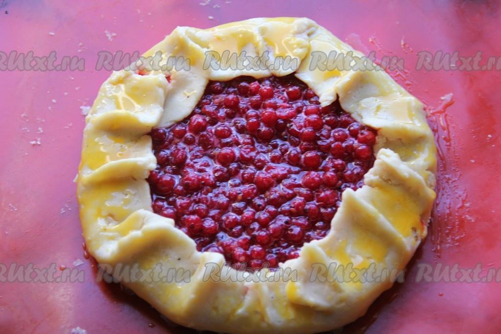 Как сделать пирог с ягодами из теста 2