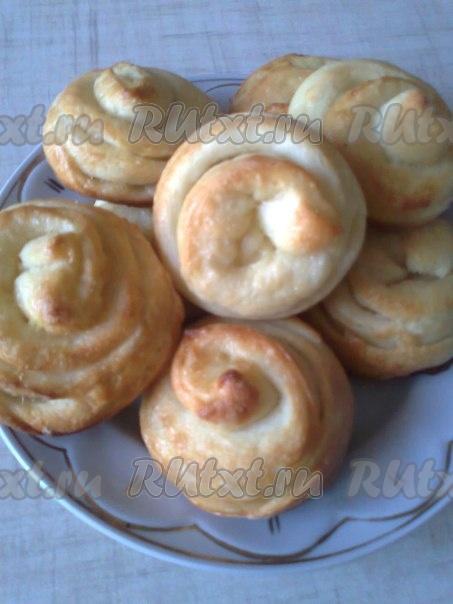 Плюшки из творога рецепт пошагово