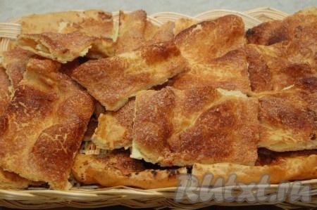 Испанский заварной пирог
