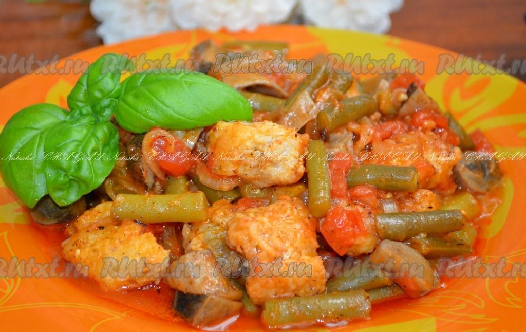 рецепты приготовления фасоли в духовке
