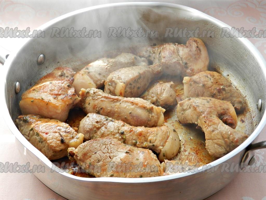Самые простые рецепты из свинины на ужин