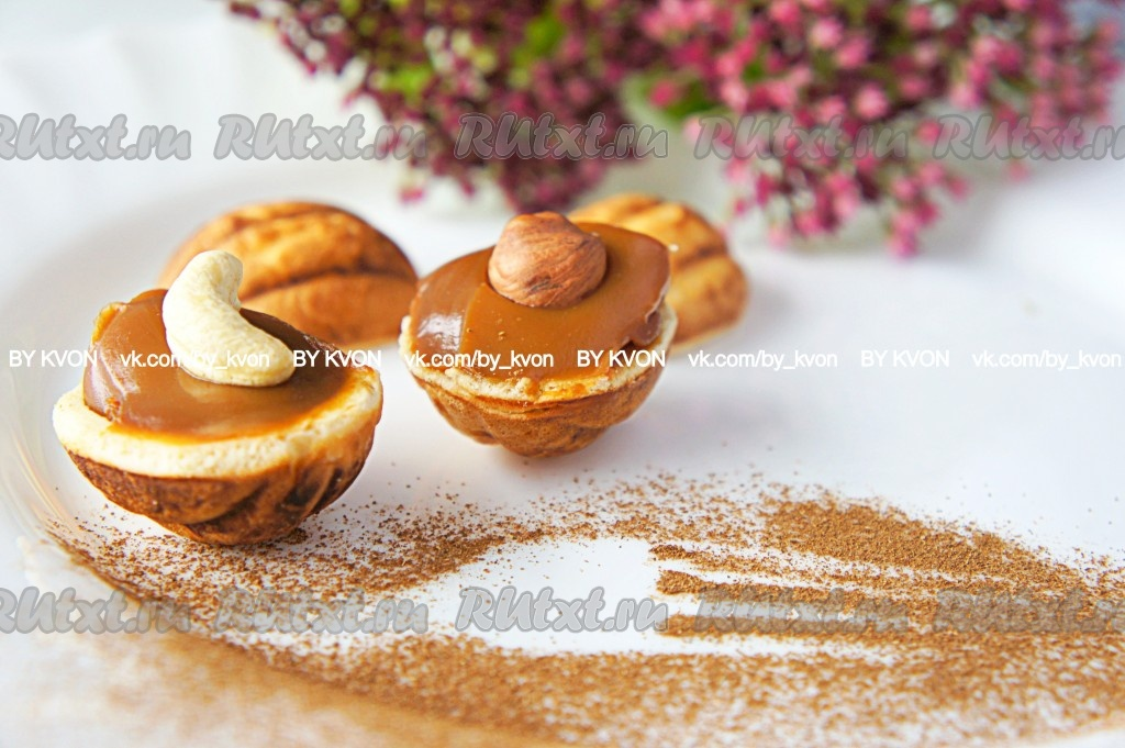 Рецепт орешки из теста