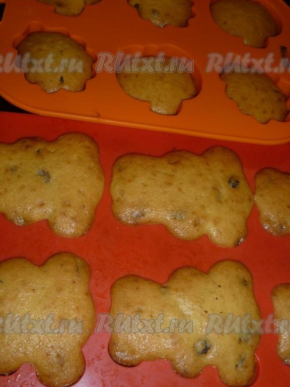 Кексы с изюмом рецепт пошагово простой рецепт в духовке