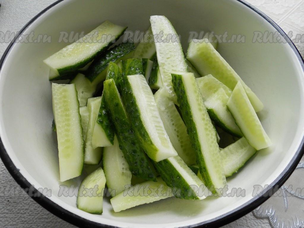 Огурцы по китайски рецепт с фото пошагово