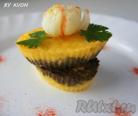 Для детей можно приготовить мини-варианты суфле из печени в маленьких формах для маффинов.
