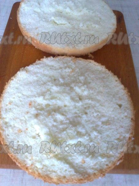 Бисквит из 2 яиц рецепт 4