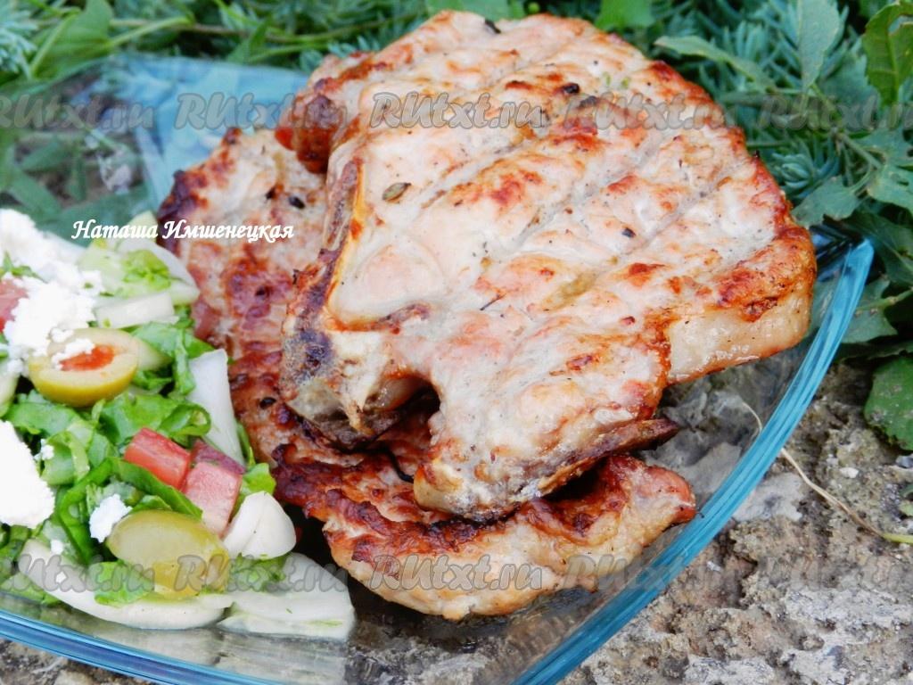 рецепт приготовления антрекотов из говядины