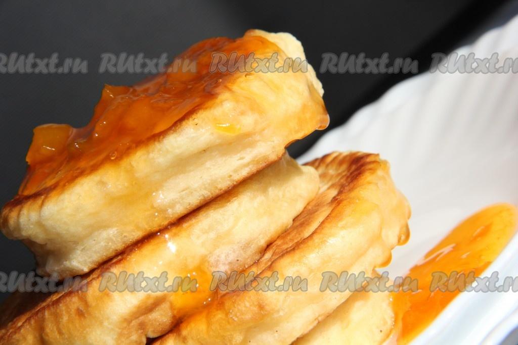 оладушки из простокваши пышные рецепт с фото