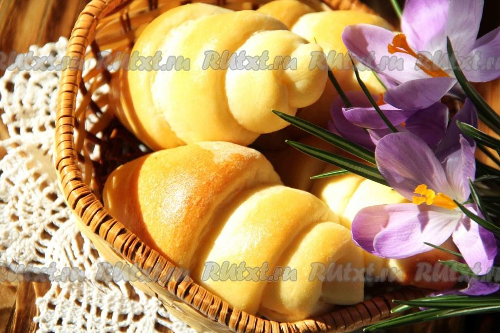 Как сделать рецепт плюшек Сладкие булочки плюшки московские с сахаром