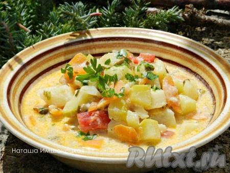 Рецепт картошки с сыром на терке в духовке