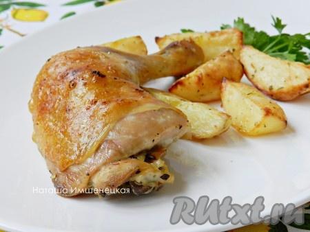 Утка с яблоками и апельсинами пошаговый рецепт с фото