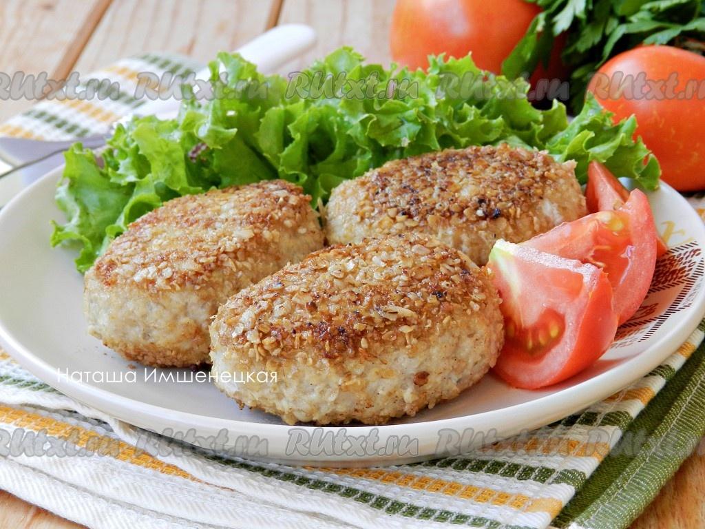 Котлеты из свинины и курицы рецепт
