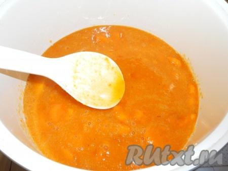 Рецепт приготовления абрикосового джема в мультиварке