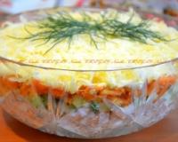 салат с курицы рецепты с фото простые и вкусные