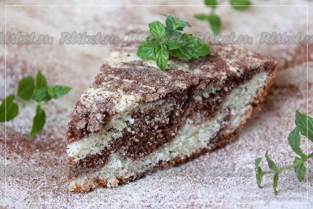 бисквитный торт рецепт с какао