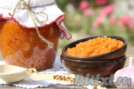 рецепт приготовления вкусной икры из кабачков на зиму