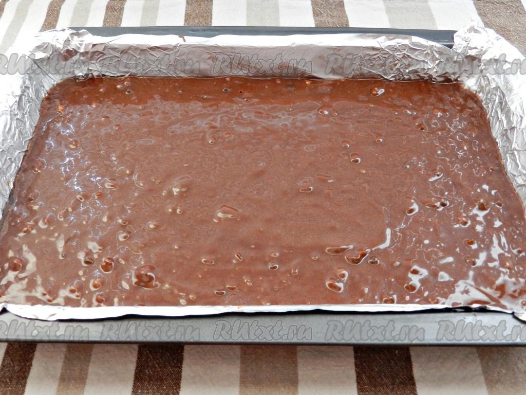 брауни в духовке рецепт с фото