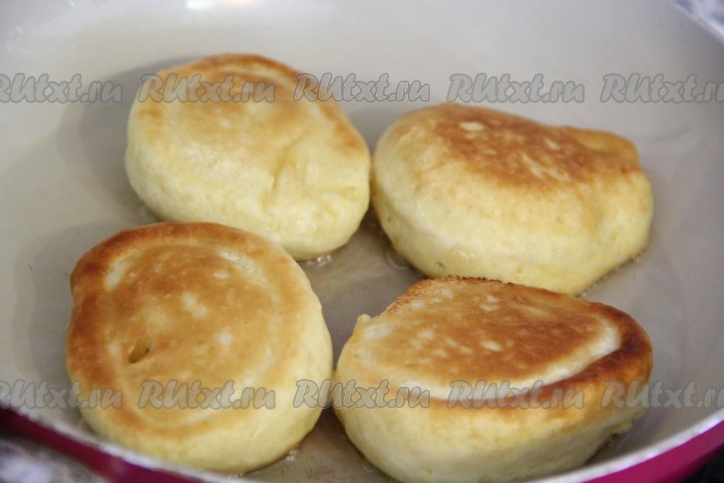 Оладьи на кефире и молоке без яиц рецепт