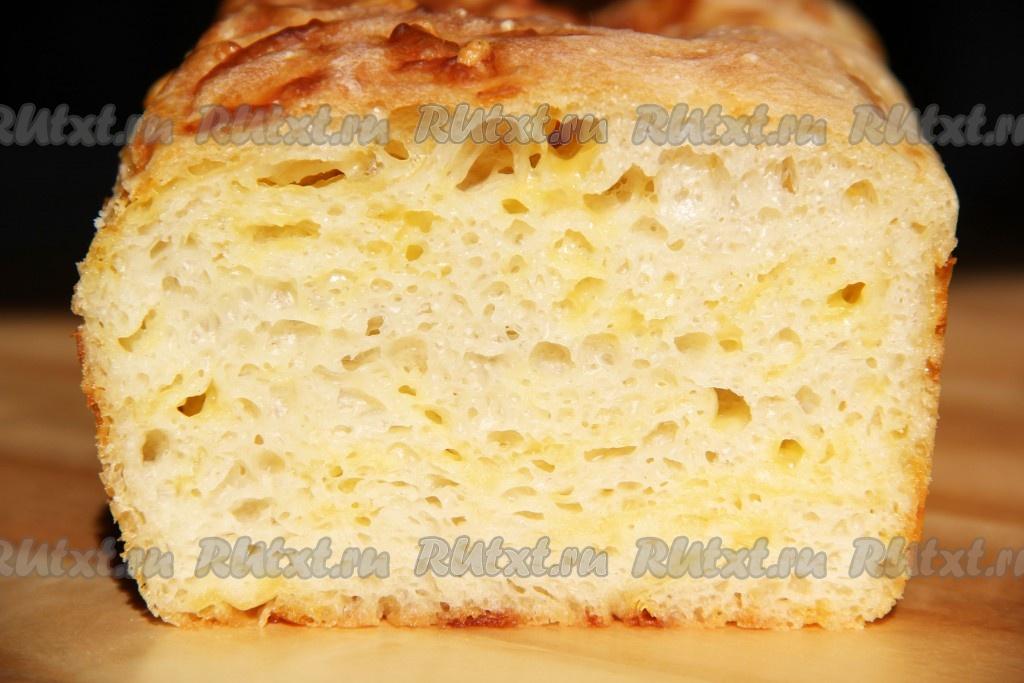 Сырный хлеб в духовке
