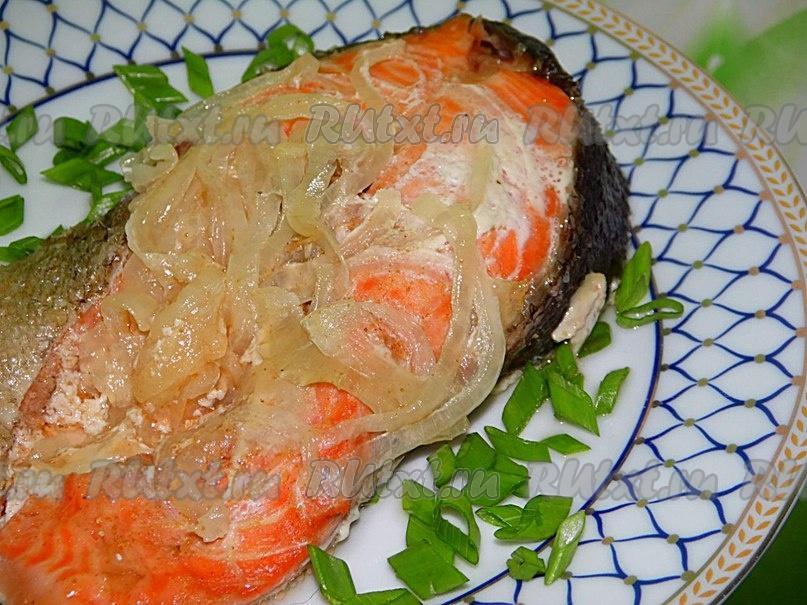 Рецепт запеченной форели в сливочном соусе в духовке рецепт