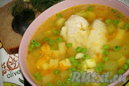 рецепт приготовления вкусного куриного супа