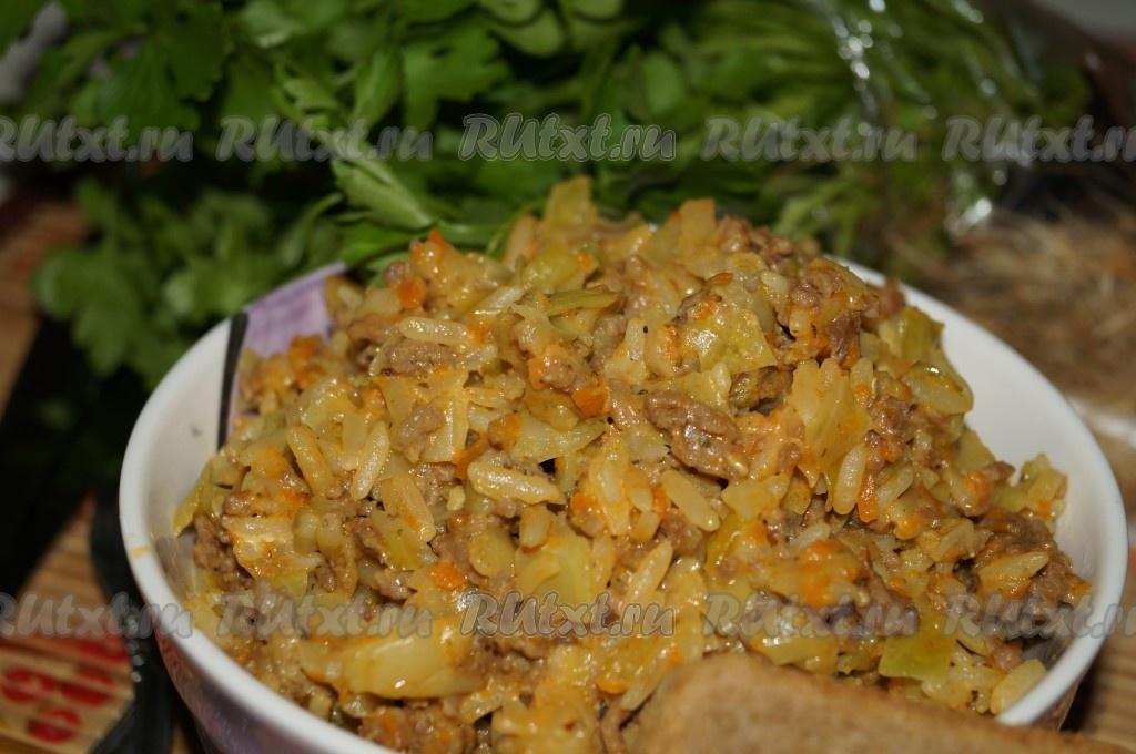 Голубцы на сковороде рецепт с фото