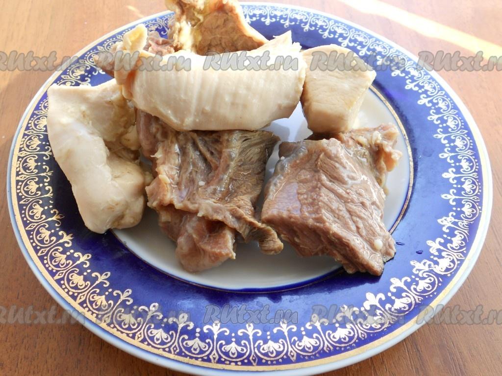 пирожки с мясом в духовке пошаговый рецепт с